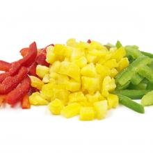 frozen pepper red greeen yellow iqf Andreas Wendt GmbH
