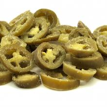 Frozen Jalapeno slices, marinated, iqf., Andreas Wendt GmbH